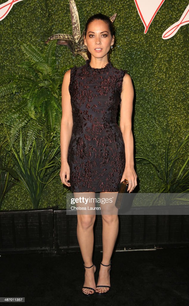 Actress <a gi-track='captionPersonalityLinkClicked' href=/galleries/search?phrase=Olivia+Munn&family=editorial&specificpeople=598969 ng-click='$event.stopPropagation()'>Olivia Munn</a> attends Lanvin And Living Beauty Host An Evening Of Fashion on April 26, 2014 in Beverly Hills, California.