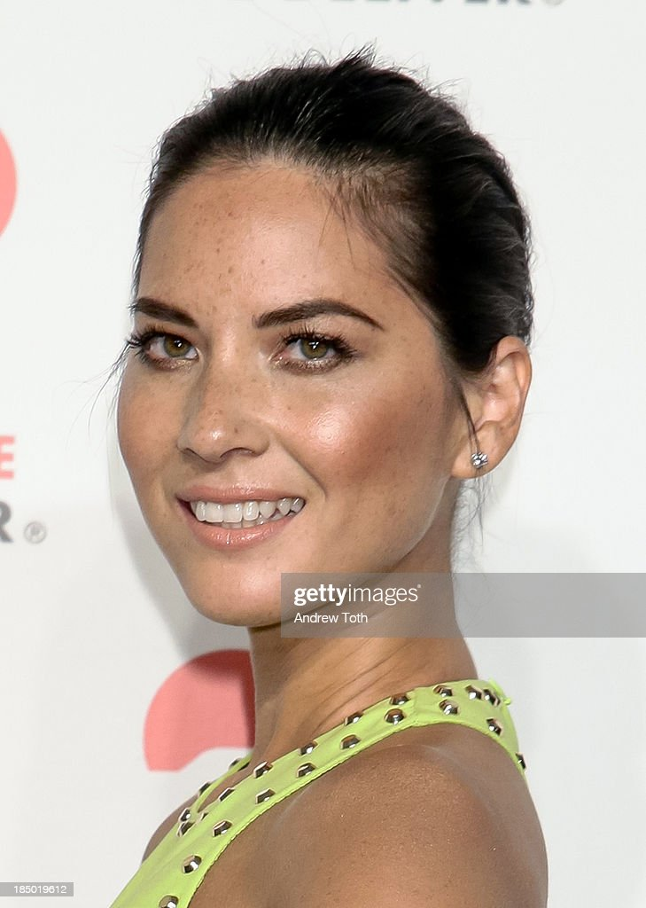 Actress <a gi-track='captionPersonalityLinkClicked' href=/galleries/search?phrase=Olivia+Munn&family=editorial&specificpeople=598969 ng-click='$event.stopPropagation()'>Olivia Munn</a> attends the 2013 God's Love We Deliver 2013 Golden Heart Awards Celebration at Spring Studios on October 16, 2013 in New York City.