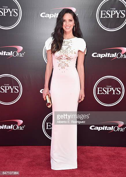 Actress Olivia Munn attends the 2016 ESPYS at Microsoft Theater on July 13 2016 in Los Angeles California