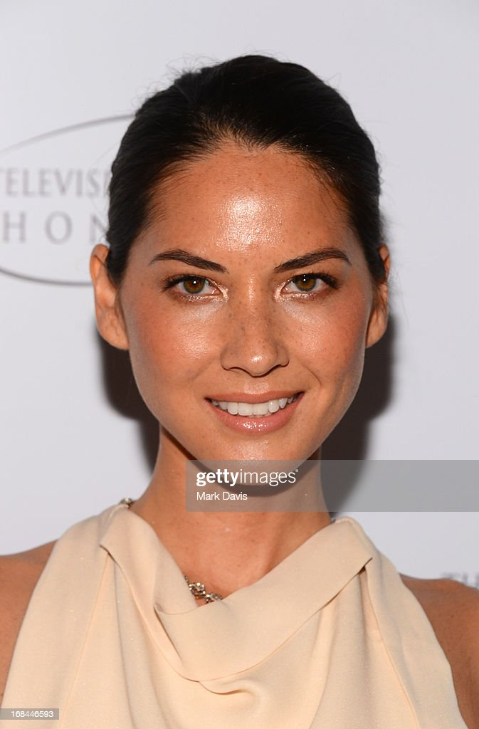 Actress <a gi-track='captionPersonalityLinkClicked' href=/galleries/search?phrase=Olivia+Munn&family=editorial&specificpeople=598969 ng-click='$event.stopPropagation()'>Olivia Munn</a> attends the '6th Annual Television Academy Honors' held at the Beverly Hills Hotel on May 9, 2013 in Beverly Hills, California.