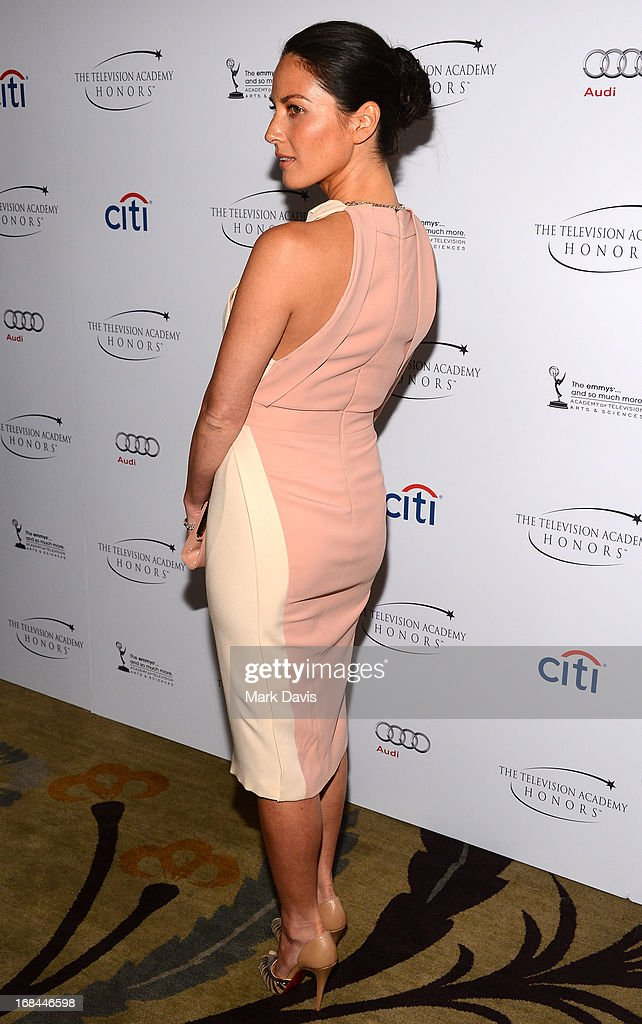 Actress Olivia Munn attends the '6th Annual Television Academy Honors' held at the Beverly Hills Hotel on May 9, 2013 in Beverly Hills, California.