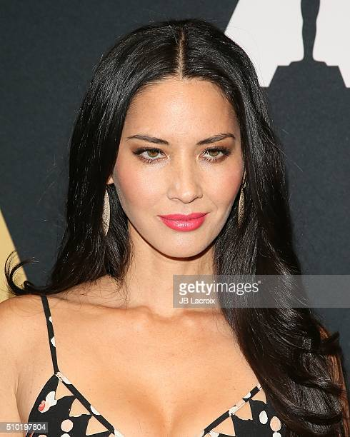 Actress Olivia Munn attends the Academy of Motion Picture Arts and Sciences' Scientific and Technical Awards ceremony at the Beverly Wilshire Four...