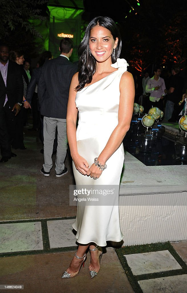 Actress Olivia Munn attends the after party for HBO's New Series 'Newsroom' Los Angeles Premiere at Boulevard3 on June 20, 2012 in Hollywood, California.