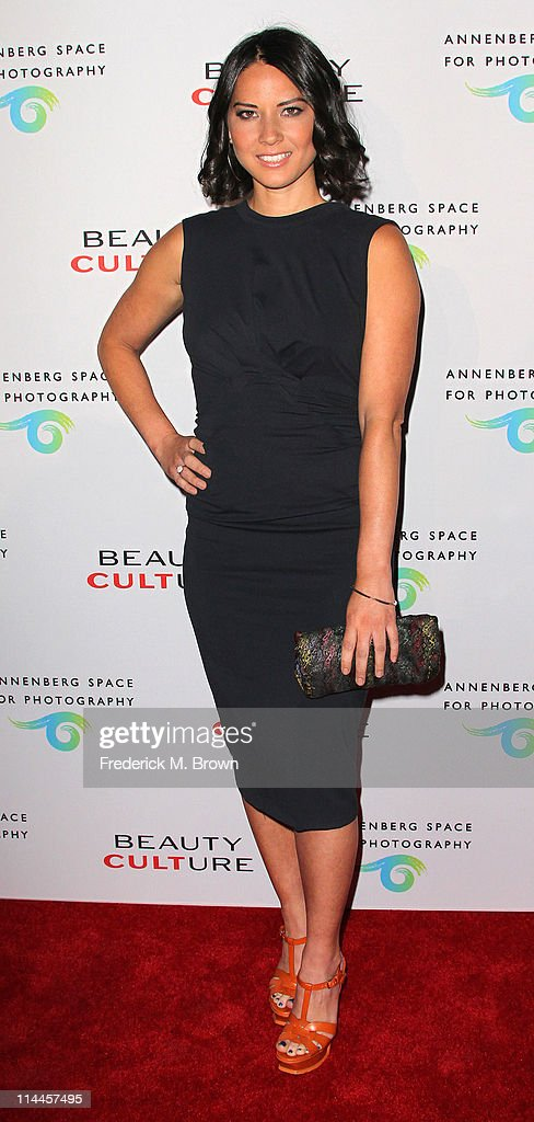 Actress Olivia Munn attends the Opening Night of 'Beauty Culture' at The Annenberg Space For Photography on May 19, 2011 in Century City, California.