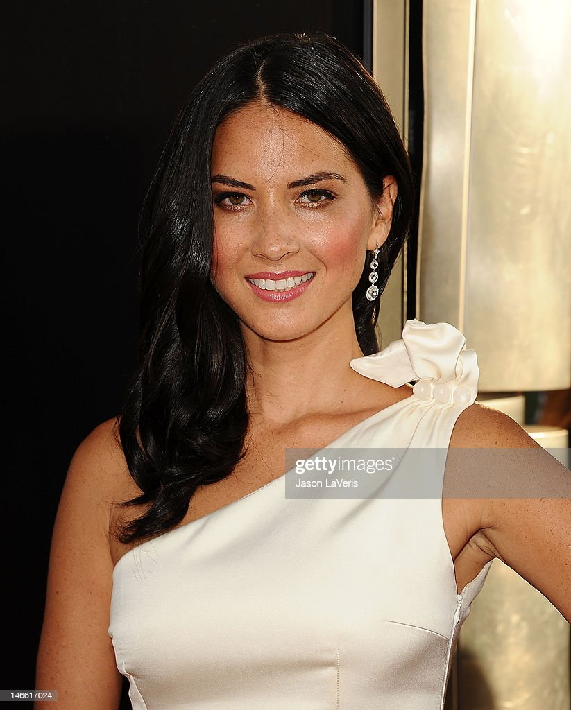 Actress <a gi-track='captionPersonalityLinkClicked' href=/galleries/search?phrase=Olivia+Munn&family=editorial&specificpeople=598969 ng-click='$event.stopPropagation()'>Olivia Munn</a> attends the premiere of HBO's 'Newsroom' at ArcLight Cinemas Cinerama Dome on June 20, 2012 in Hollywood, California.