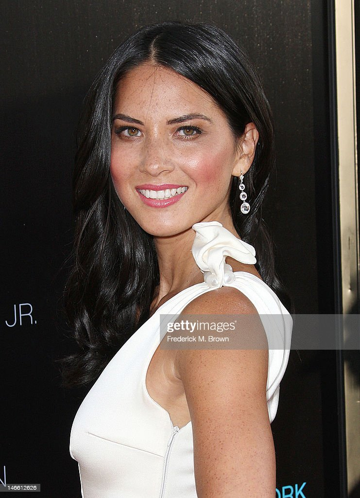 Actress Olivia Munn attends the Premiere Of HBO's 'The Newsroom' at the ArcLight Cinemas Cinerama Dome on June 20, 2012 in Hollywood, California.
