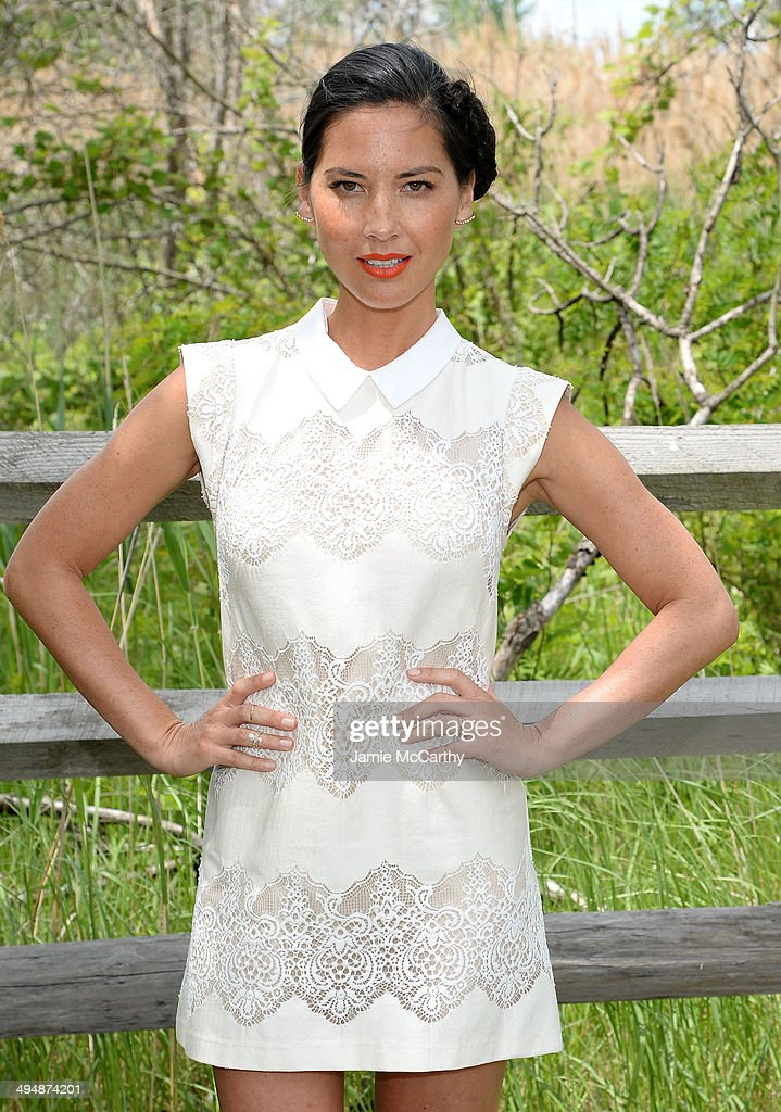 Actress Olivia Munn attends the seventh annual Veuve Clicquot Polo Classic in Liberty State Park on May 31, 2014 in Jersey City City.