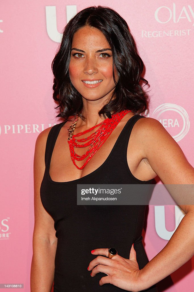 Actress <a gi-track='captionPersonalityLinkClicked' href=/galleries/search?phrase=Olivia+Munn&family=editorial&specificpeople=598969 ng-click='$event.stopPropagation()'>Olivia Munn</a> attends the Us Weekly Hot Hollywood Style Event at Greystone Manor Supperclub on April 18, 2012 in West Hollywood, California.