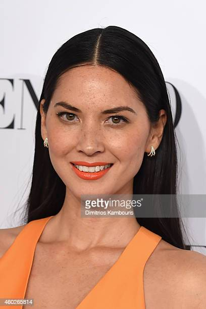 Actress Olivia Munn attends the Valentino Sala Bianca 945 Event on December 10 2014 in New York City