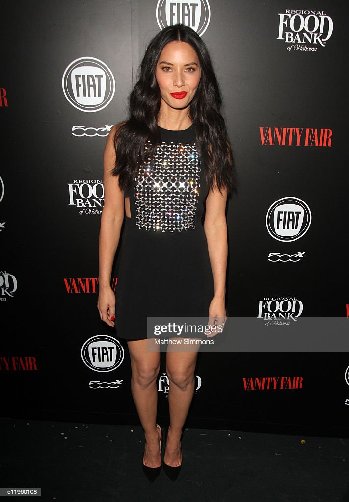 Actress Olivia Munn attends the Vanity Fair And FIAT Toast To 'Young Hollywood' at Chateau Marmont on February 23, 2016 in Los Angeles, California.