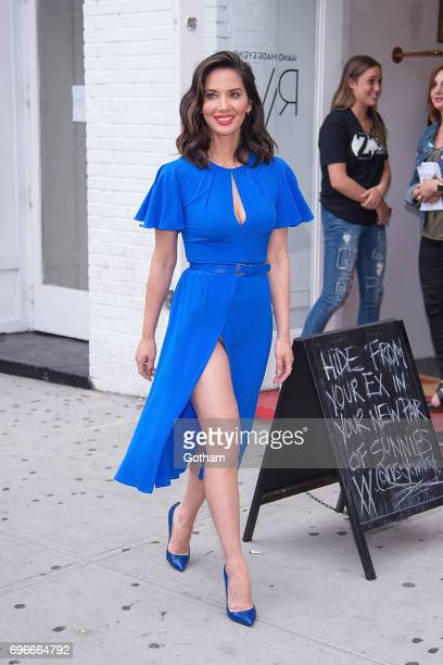 Actress Olivia Munn is seen the East Village on June 16 2017 in New York City