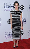 Actress Olivia Munn poses in the press room at The 41st Annual People's Choice Awards at Nokia Theatre LA Live on January 7 2015 in Los Angeles...