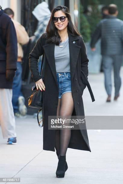 Actress Olivia Munn seen on the streets of Manhattan on November 25 2013 in New York City