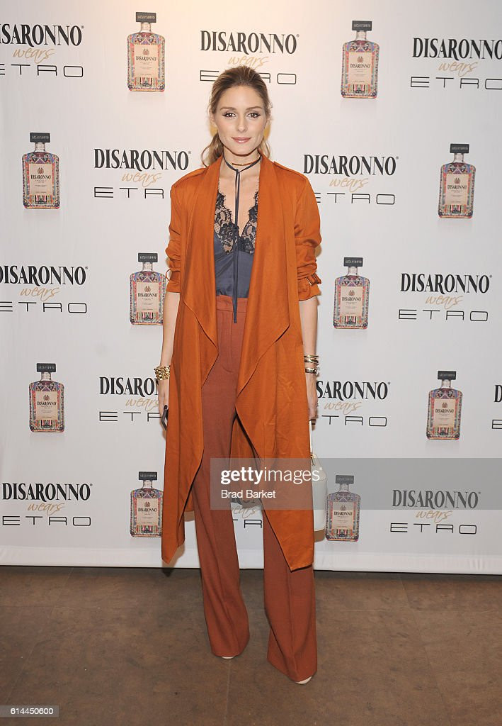 DISARONNO Wears ETRO Launch Event
