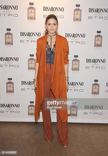 Actress Olivia Palermo attends DISARONNO Wears ETRO Launch Event at ETRO in Soho October 13 2016 in New York City