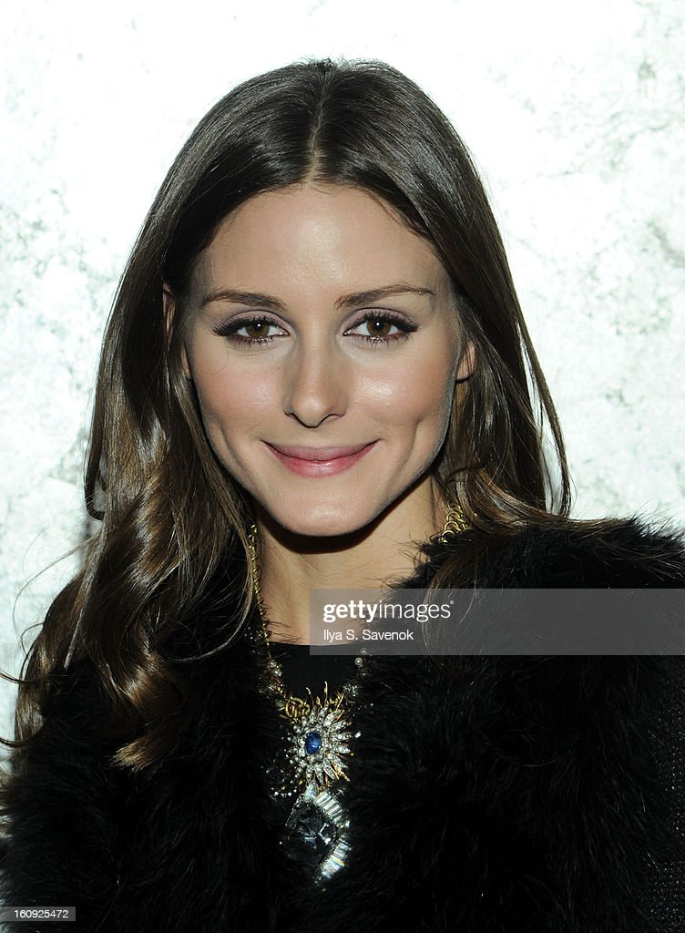Actress Olivia Palermo attends the La Perla fall 2013 presentation during Mercedes-Benz Fashion Week at The Gallery at The Dream Downtown Hotel on February 7, 2013 in New York City.