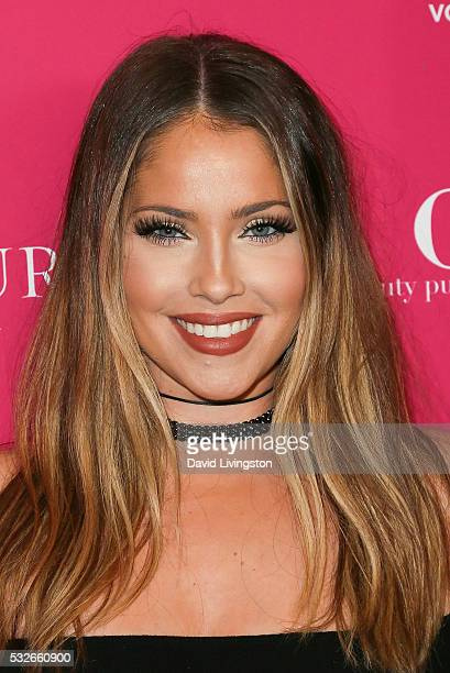 Actress Olivia Pierson arrives at the OK Magazine's So Sexy LA at the Skybar at Mondrian on May 18 2016 in West Hollywood California
