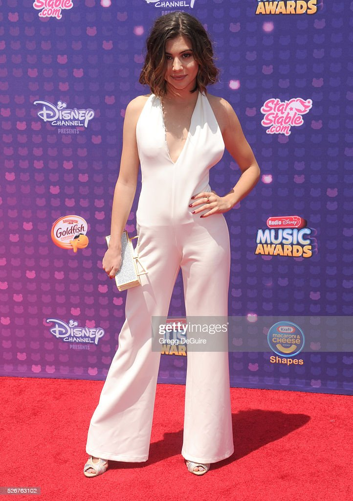Actress Olivia Stuck arrives at the 2016 Radio Disney Music Awards at Microsoft Theater on April 30, 2016 in Los Angeles, California.
