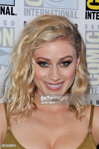 Actress Olivia Taylor Dudley at 'The Magicians' Press Line during ComicCon International 2017 at Hilton Bayfront on July 22 2017 in San Diego...