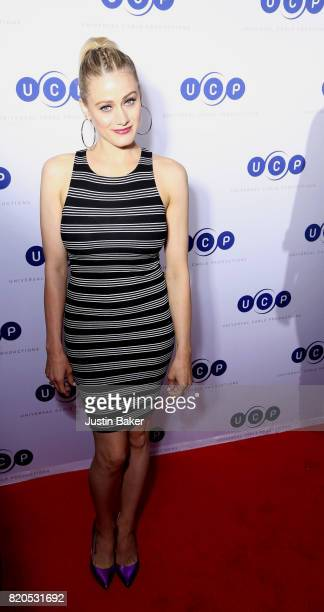 Actress Olivia Taylor Dudley attends Universal Cable Productions Annual ComicCon Celebration at Omnia Nightclub on July 21 2017 in San Diego...