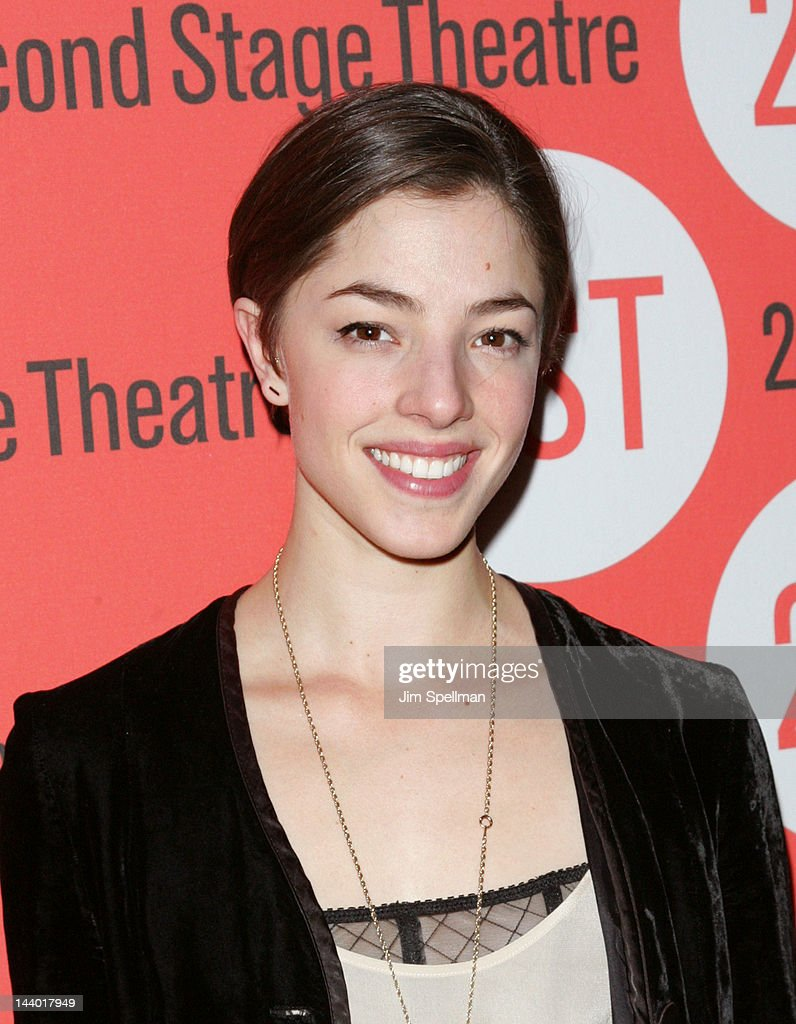 Actress Olivia Thirlby attends the 'Lonely, I'm Not' Off-Broadway opening night after party at the HB Burger on May 7, 2012 in New York City.