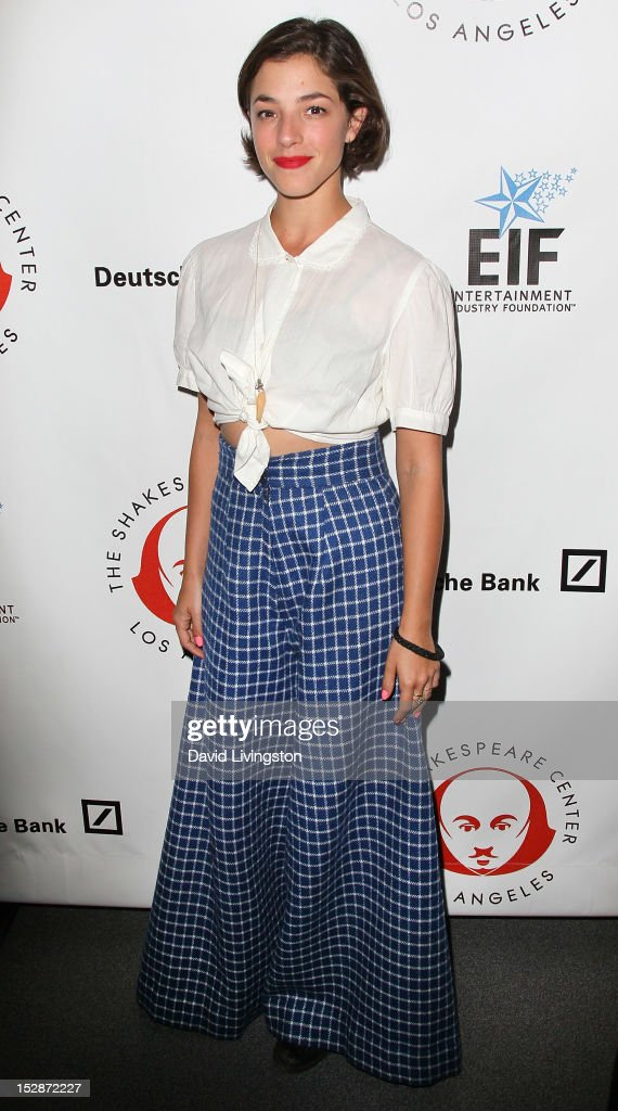 Actress Olivia Thirlby attends the Shakespeare Center of Los Angeles' 22nd Annual 'Simply Shakespeare' at the Freud Playhouse, UCLA on September 27, 2012 in Westwood, California.