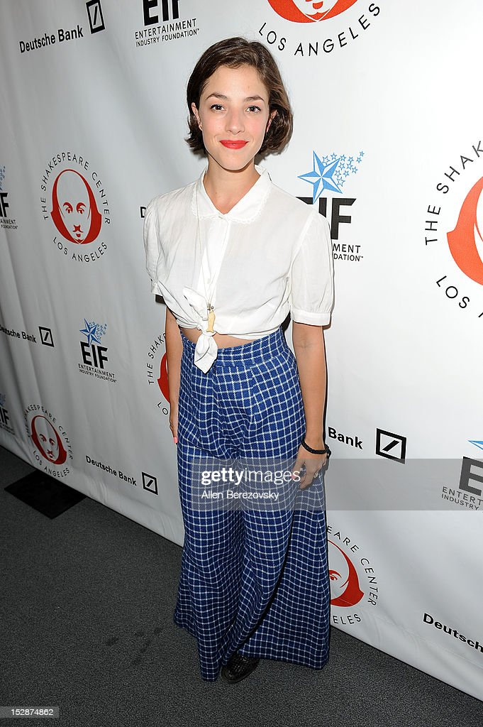 Actress <a gi-track='captionPersonalityLinkClicked' href=/galleries/search?phrase=Olivia+Thirlby&family=editorial&specificpeople=669904 ng-click='$event.stopPropagation()'>Olivia Thirlby</a> attends the Shakespeare Center of Los Angeles' 22nd annual 'Simply Shakespeare' reading of 'A Midsummer Night's Dream' at Freud Playhouse, UCLA on September 27, 2012 in Westwood, California.