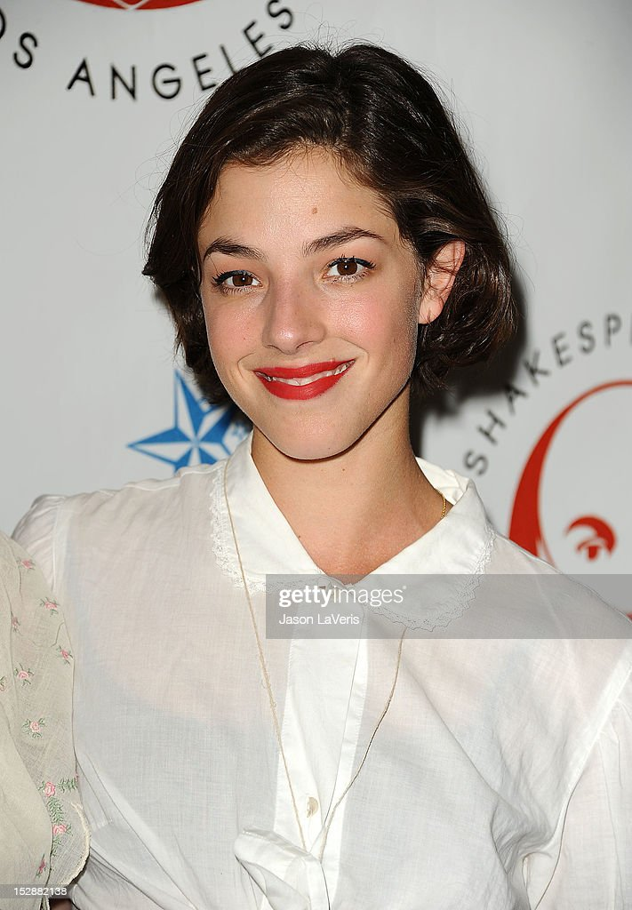 Actress Olivia Thirlby attends the Shakespeare Center of Los Angeles' 22nd annual 'Simply Shakespeare' event at Freud Playhouse, UCLA on September 27, 2012 in Westwood, California.