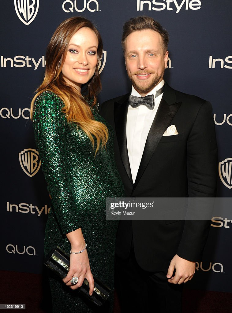 Actress <a gi-track='captionPersonalityLinkClicked' href=/galleries/search?phrase=Olivia+Wilde&family=editorial&specificpeople=235399 ng-click='$event.stopPropagation()'>Olivia Wilde</a> and Editor of InStyle <a gi-track='captionPersonalityLinkClicked' href=/galleries/search?phrase=Ariel+Foxman&family=editorial&specificpeople=2257678 ng-click='$event.stopPropagation()'>Ariel Foxman</a> attend the 2014 InStyle And Warner Bros. 71st Annual Golden Globe Awards Post-Party at The Beverly Hilton Hotel on January 12, 2014 in Beverly Hills, California.