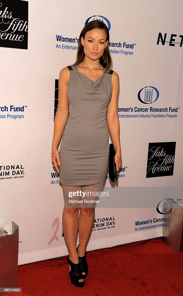 Actress Olivia Wilde arrives at An Unforgettable Evening Benefiting EIF's Women's Cancer Research Fund at Beverly Wilshire Four Seasons Hotel on January 27, 2010 in Beverly Hills, California.