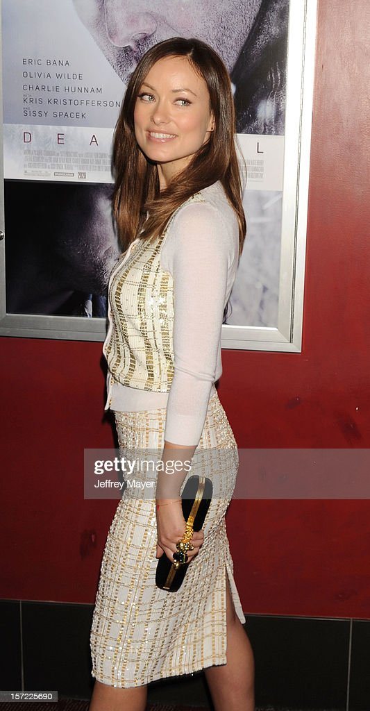 Actress Olivia Wilde arrives at the 'Deadfall' Los Angeles Premiere at ArcLight Hollywood on November 29, 2012 in Hollywood, California.