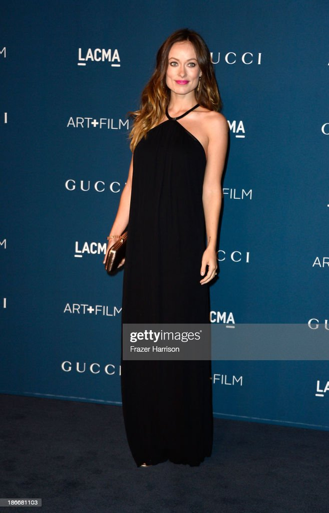 Actress <a gi-track='captionPersonalityLinkClicked' href=/galleries/search?phrase=Olivia+Wilde&family=editorial&specificpeople=235399 ng-click='$event.stopPropagation()'>Olivia Wilde</a> arrives at the LACMA 2013 Art + Film Gala on November 2, 2013 in Los Angeles, California.