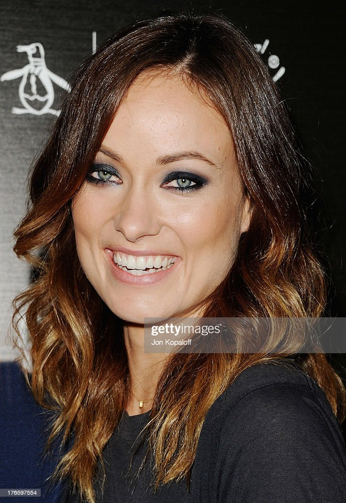 Actress <a gi-track='captionPersonalityLinkClicked' href=/galleries/search?phrase=Olivia+Wilde&family=editorial&specificpeople=235399 ng-click='$event.stopPropagation()'>Olivia Wilde</a> arrives at the Los Angeles Premiere 'Drinking Buddies' at ArcLight Hollywood on August 15, 2013 in Hollywood, California.