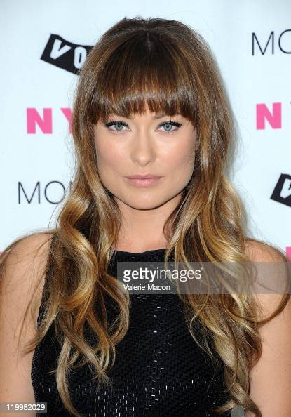 Actress Olivia Wilde arrives at the NYLON August Denim Issue Launch Party on July 27 2011 in Los Angeles California