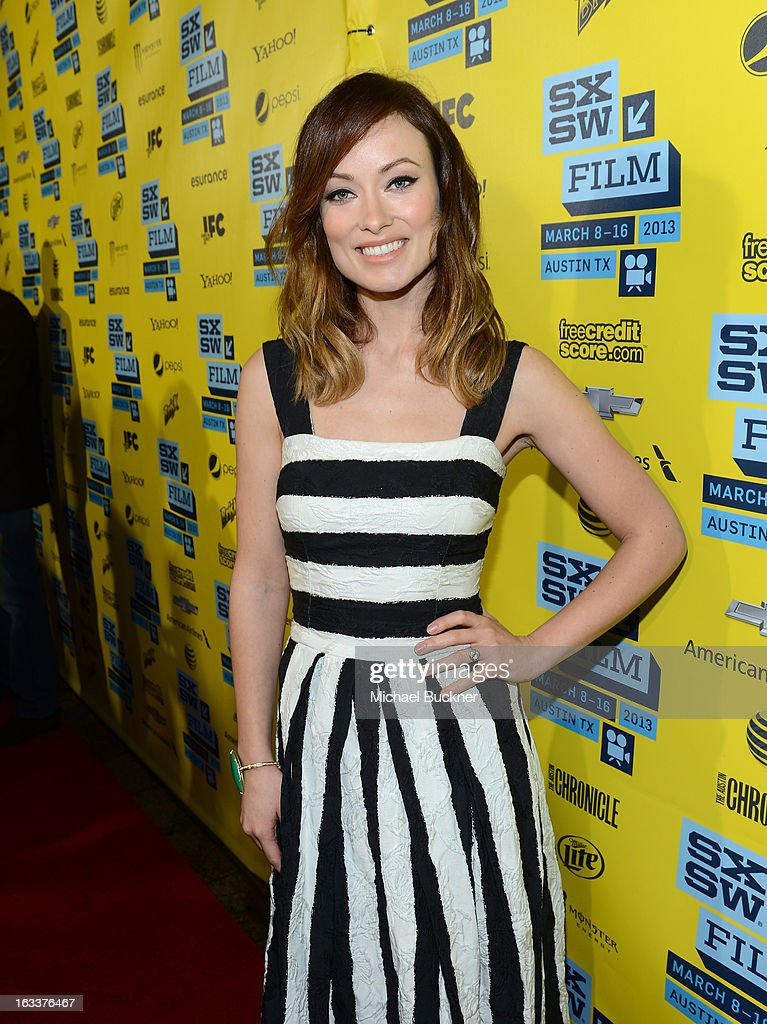 Actress Olivia Wilde arrives at the screening of 'The Incredible Burt Wonderstone' during the 2013 SXSW Music, Film + Interactive Festival at the Paramount Theatre on March 8, 2013 in Austin, Texas.