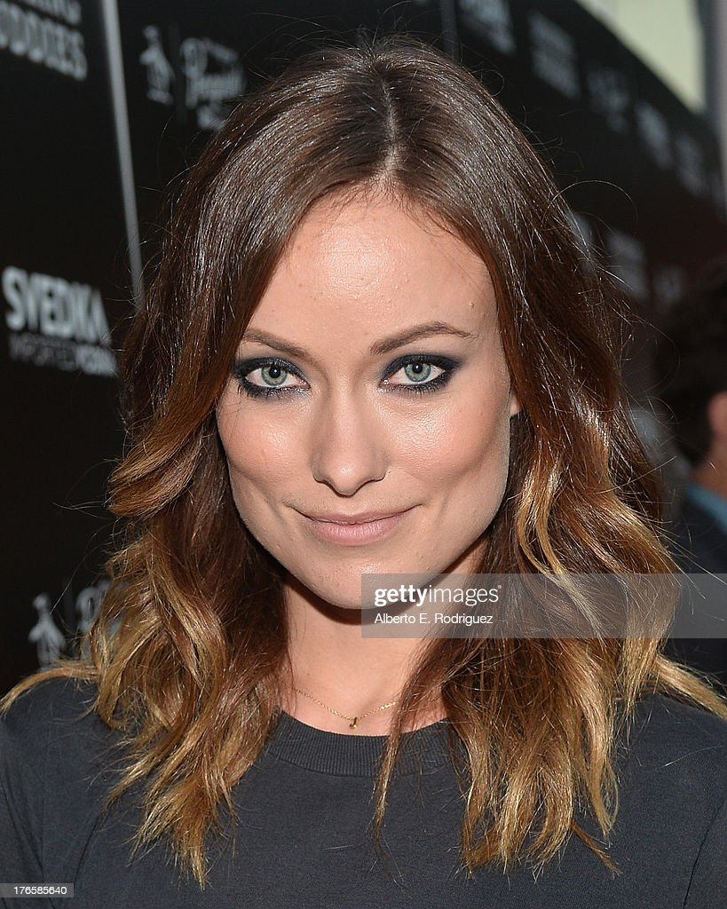 Actress <a gi-track='captionPersonalityLinkClicked' href=/galleries/search?phrase=Olivia+Wilde&family=editorial&specificpeople=235399 ng-click='$event.stopPropagation()'>Olivia Wilde</a> arrives for the screening of Magnolia Pictures' 'Drinking Buddies' at ArcLight Cinemas on August 15, 2013 in Hollywood, California.