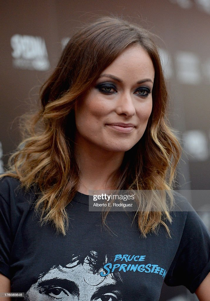 Actress Olivia Wilde arrives for the screening of Magnolia Pictures' 'Drinking Buddies' at ArcLight Cinemas on August 15, 2013 in Hollywood, California.