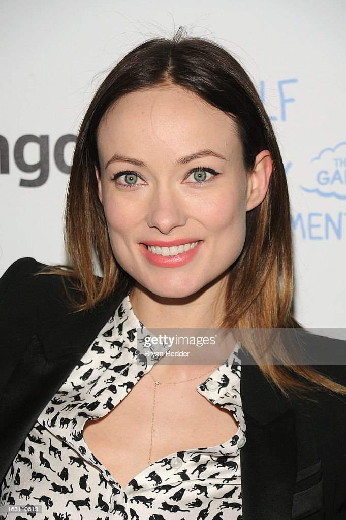Actress <a gi-track='captionPersonalityLinkClicked' href=/galleries/search?phrase=Olivia+Wilde&family=editorial&specificpeople=235399 ng-click='$event.stopPropagation()'>Olivia Wilde</a> attends Games For Change presents the launch of Half The Sky Movement: The Game at No. 8 on March 4, 2013 in New York City.