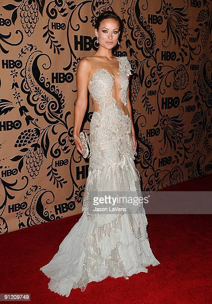 Actress Olivia Wilde attends HBO's post Emmy Awards reception at Pacific Design Center on September 20 2009 in West Hollywood California