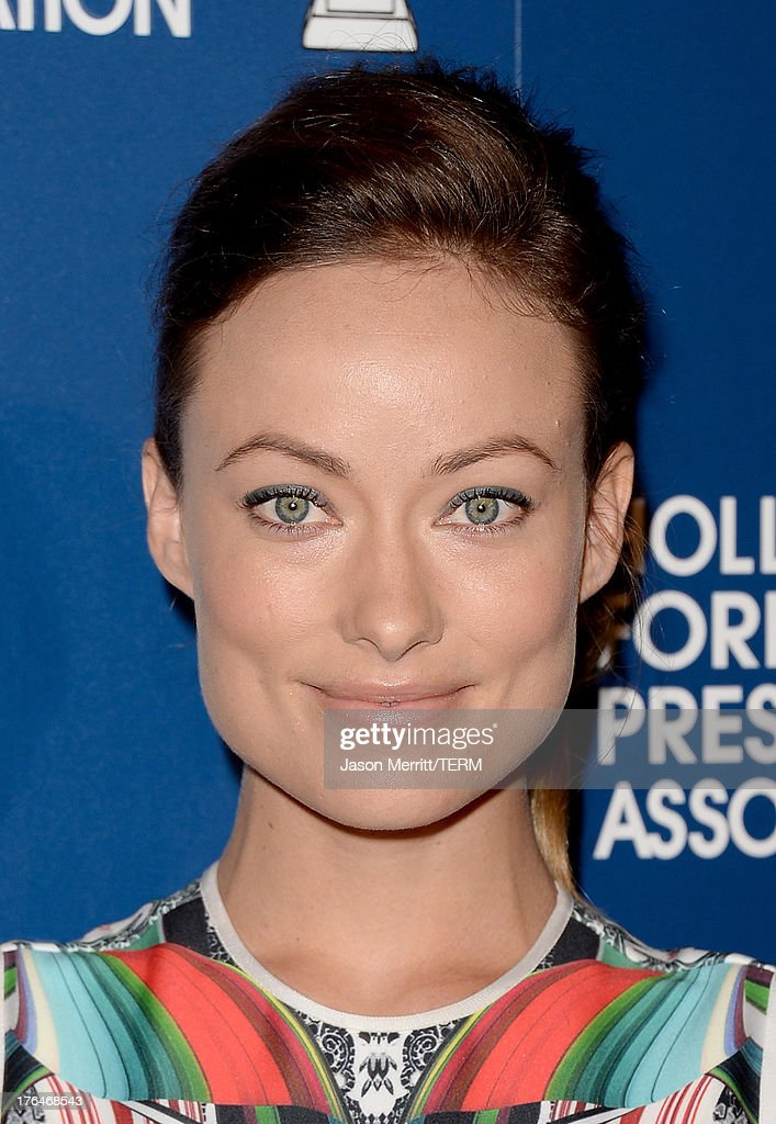 Actress Olivia Wilde attends Hollywood Foreign Press Association's 2013 Installation Luncheon at The Beverly Hilton Hotel on August 13, 2013 in Beverly Hills, California.