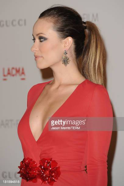 Actress Olivia Wilde attends LACMA Art Film Gala Honoring Clint Eastwood and John Baldessari Presented By Gucci at Los Angeles County Museum of Art...