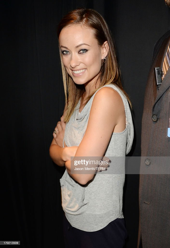 Actress <a gi-track='captionPersonalityLinkClicked' href=/galleries/search?phrase=Olivia+Wilde&family=editorial&specificpeople=235399 ng-click='$event.stopPropagation()'>Olivia Wilde</a> attends Spike TV's Guys Choice 2013 at Sony Pictures Studios on June 8, 2013 in Culver City, California.