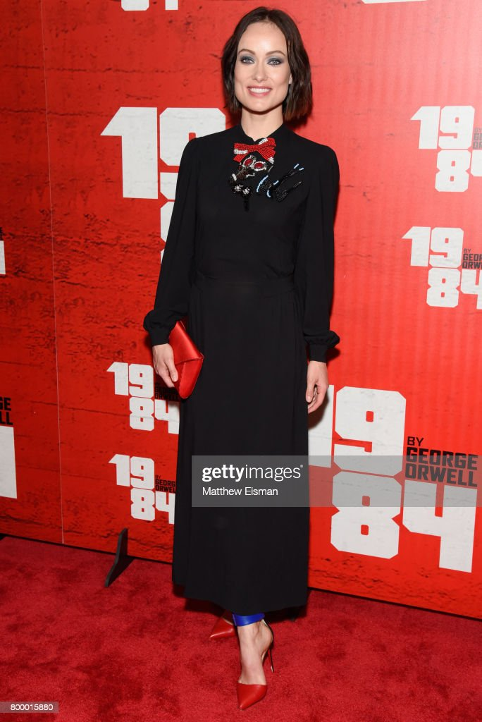 Actress Olivia Wilde attends the '1984' Broadway opening night after party at The Lighthouse at Chelsea Piers on June 22, 2017 in New York City.
