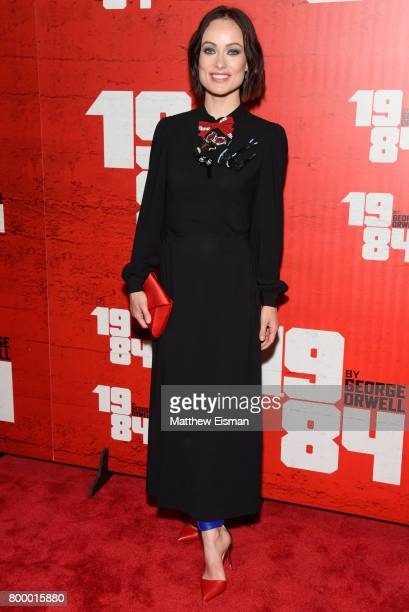 Actress Olivia Wilde attends the '1984' Broadway opening night after party at The Lighthouse at Chelsea Piers on June 22 2017 in New York City