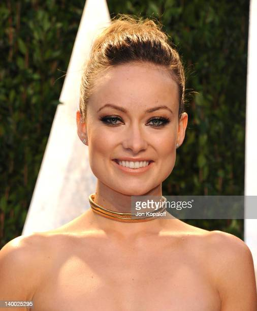 Actress Olivia Wilde attends the 2012 Vanity Fair Oscar Party at Sunset Tower on February 26 2012 in West Hollywood California