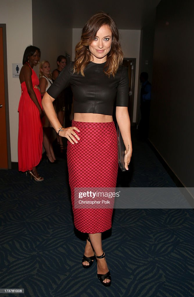 Actress <a gi-track='captionPersonalityLinkClicked' href=/galleries/search?phrase=Olivia+Wilde&family=editorial&specificpeople=235399 ng-click='$event.stopPropagation()'>Olivia Wilde</a> attends The 2013 ESPY Awards at Nokia Theatre L.A. Live on July 17, 2013 in Los Angeles, California.