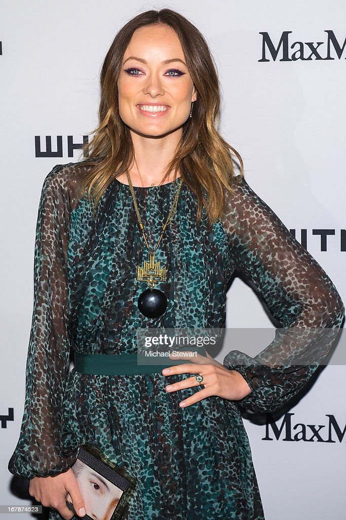 Actress Olivia WIlde attends the 2013 Whitney Art Party at Skylight at Moynihan Station on May 1, 2013 in New York City.
