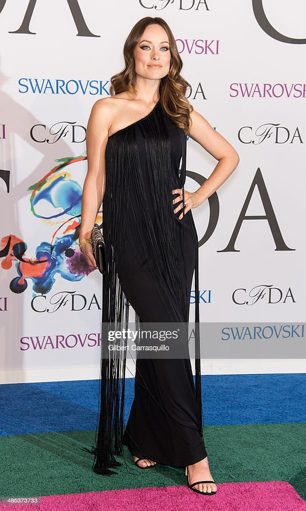 Actress Olivia Wilde attends the 2014 CFDA fashion awards at Alice Tully Hall, Lincoln Center on June 2, 2014 in New York City.