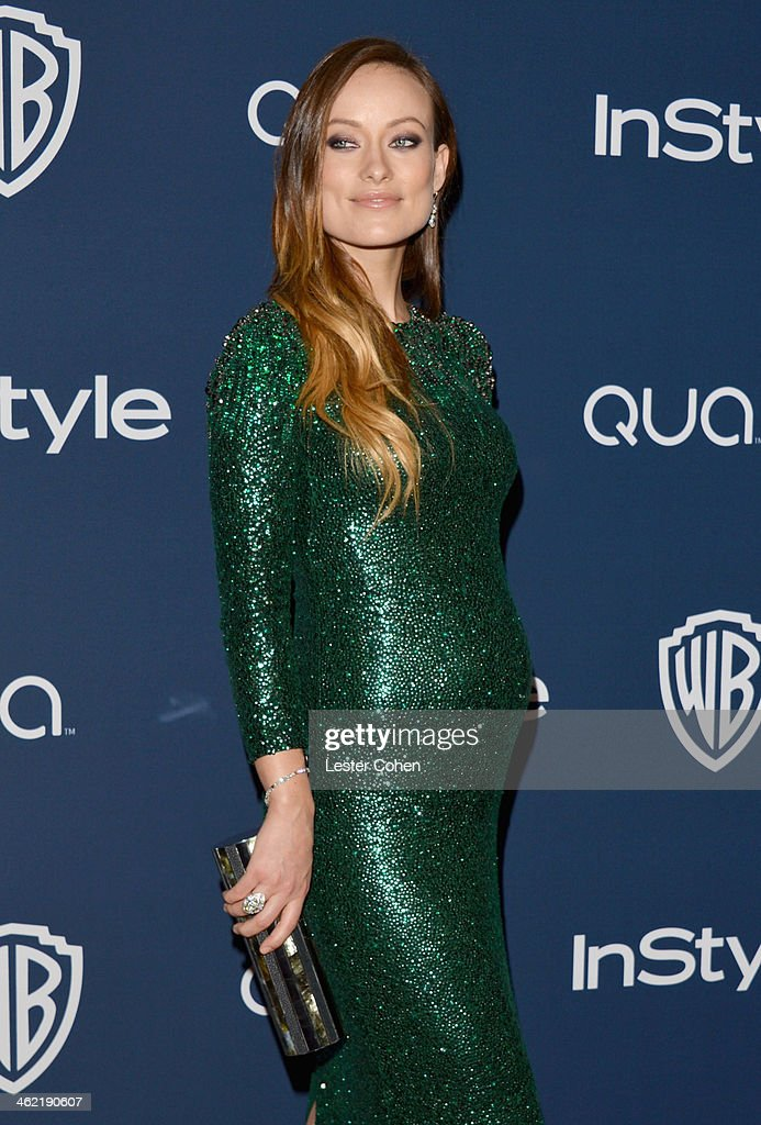 Actress Olivia Wilde attends the 2014 InStyle And Warner Bros. 71st Annual Golden Globe Awards Post-Party held at The Beverly Hilton Hotel on January 12, 2014 in Beverly Hills, California.