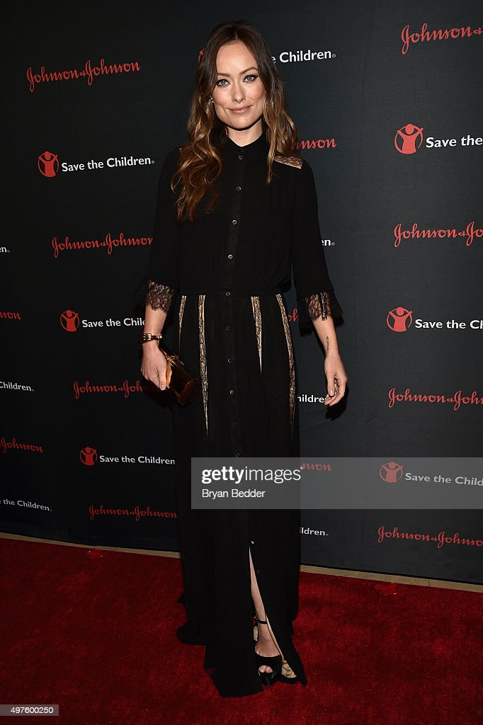 Actress Olivia Wilde attends the 3rd Annual Save the Children Illumination Gala on November 17 2015 in New York City